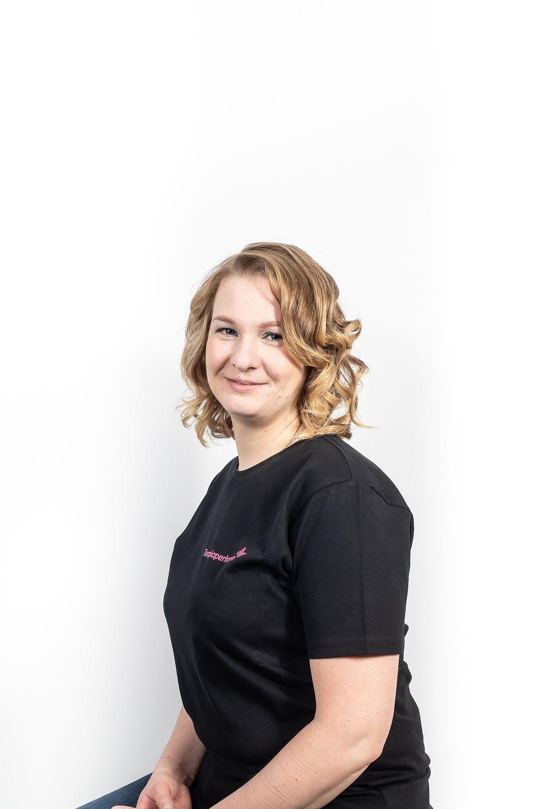 Fysioterapeutti Riina Heinonen
